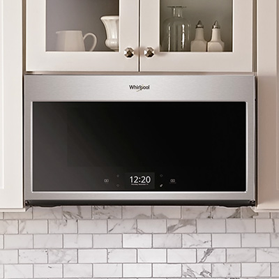 Our Smart Microwave with Scan-to-Cook technology