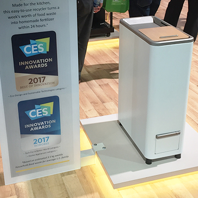 itsJudysLife + Whirlpool<sup>®</sup> at CES 2017: Zera™ Food Recycler