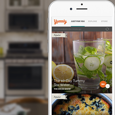 Yummly awarded one of the best new mobile apps at CES 2018